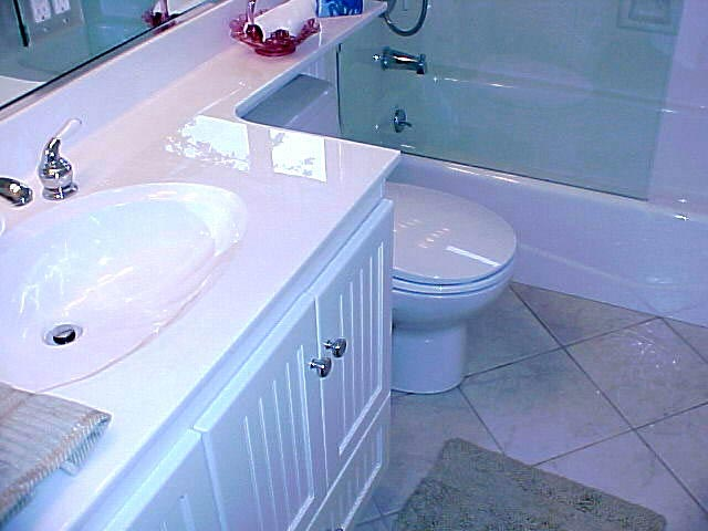 Lovely Bathroom Remodel Cultured Marble