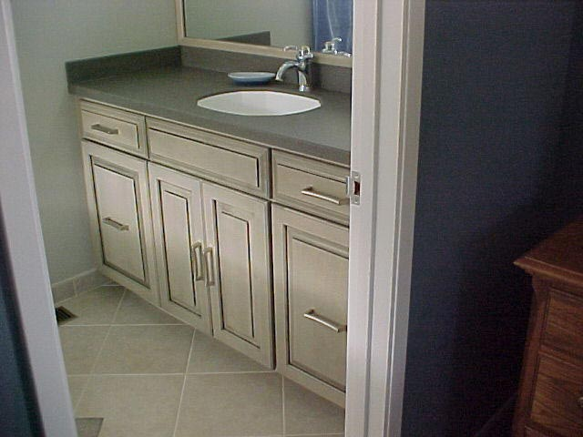 Remodeled Bathroom Cabinet and Sink in Marin